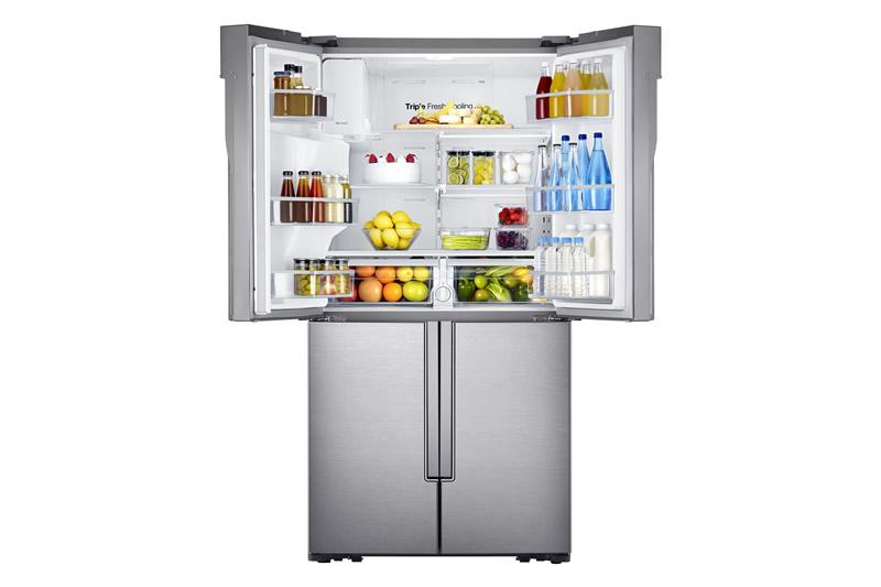 Nueva línea de refrigeradores y microondas Samsung - Refrigerador-Samsung-T9000