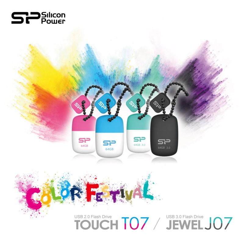 Silicon Power Lanza 2 nuevos modelos de memoria flash mini: la Touch T07 USB 2.0 y la Jewel J07 USB 3.0 - SPPR_Touch-T07-Jewel-J07_KV