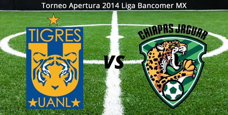 Tigres vs Jaguares, Jornada 7 Apertura 2014 - Tigres-vs-Jaguares-en-vivo-Apertura-2014