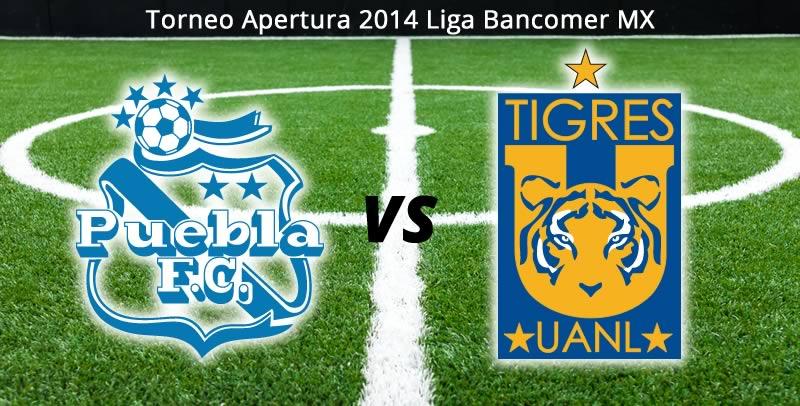 Tigres vs Puebla, Jornada 5 del Apertura 2014 - Tigres-vs-Puebla-en-vivo-Jornada-5-Apertura-2014