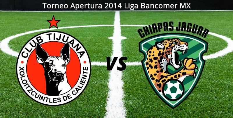 Tijuana vs Jaguares, Jornada 5 del Apertura 2014 - Tijuana-vs-Jaguares-en-vivo-Apertura-2014