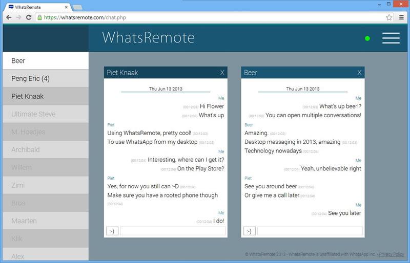 Usar WhatsApp en la computadora con WhatsRemote - WhatsApp-en-la-computadora-desde-el-navegador