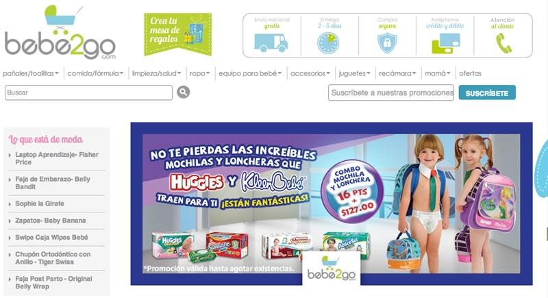 Bebe2Go la tienda en línea con todo para tu bebé - bebe2go-tienda-en-linea-para-bebes