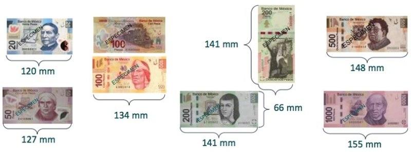 ¿Cómo se hacen los billetes en México? - billetes-actuales-fabricados-en-mexico