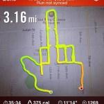 Corredora que usa el GPS de Nike+ para dibujar penes en el mapa - corredora-nike-plus-2
