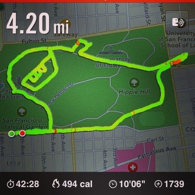 Corredora que usa el GPS de Nike+ para dibujar penes en el mapa - corredora-nike-plus-3