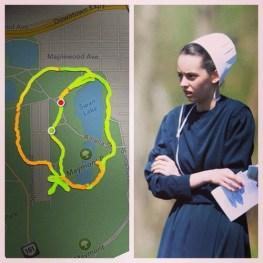 Corredora que usa el GPS de Nike+ para dibujar penes en el mapa - corredora-nike-plus-5