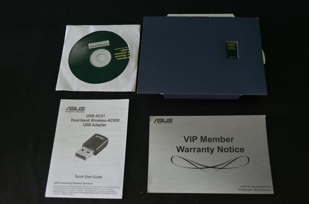 Adaptador de red inalámbrico ASUS USB-AC51 [Reseña]