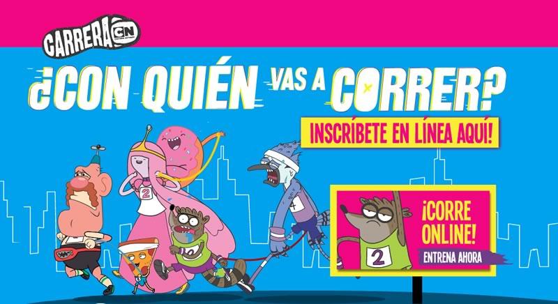 Se acerca la carrera Cartoon Network 2014 y Diego Torres será su embajador regional - Carrera-Cartoon-Network