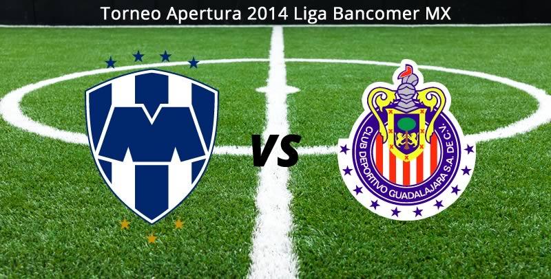 Chivas vs Monterrey, Jornada 8 del Apertura 2014 - Chivas-vs-Monterrey-en-vivo-Apertura-2014