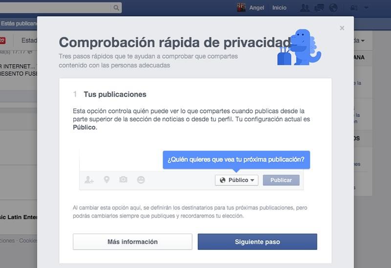 Facebook lanza su herramienta de comprobación de privacidad - Comprobacion-de-Privacidad-en-Facebook