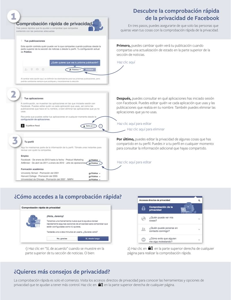 Facebook lanza su herramienta de comprobación de privacidad - Comrpbacion-de-Privacidad-Facebook