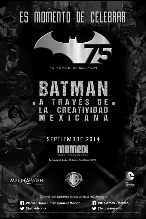 Inicia la exposición de BATMAN A través de la Creatividad Mexicana en el MUMEDI - Expo-Batman-MUMEDI