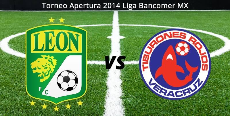 León vs Veracruz, Jornada 9 Apertura 2014 - Leon-vs-Veracruz-en-vivo-Apertura-2014