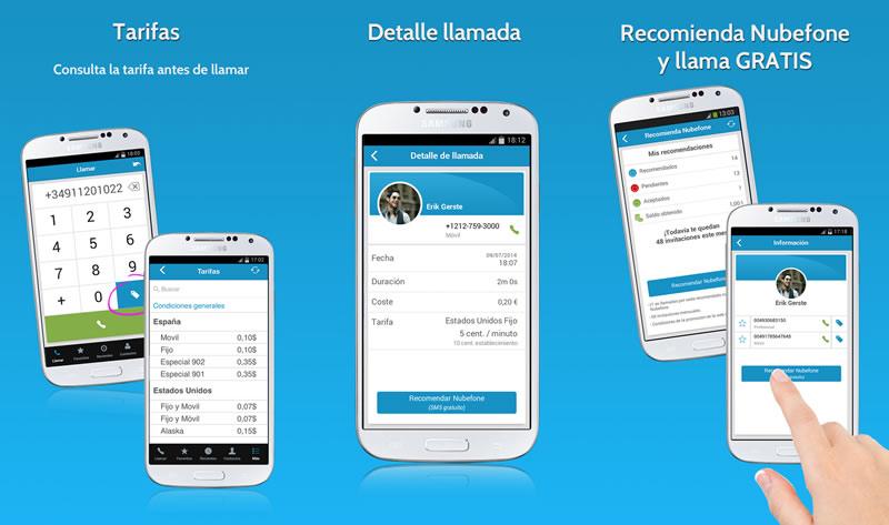 Nubefone, app para llamar a fijos y móviles sin consumir datos, ya disponible en México - Llamadas-baratas-nubefone