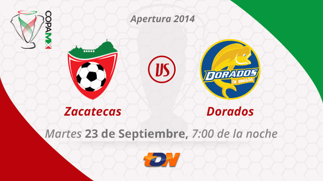 Mineros vs Dorados por internet, Copa MX Apertura 2014 (Vuelta) - Mineros-vs-Dorados-en-vivo-Copa-MX-Apertura-2014