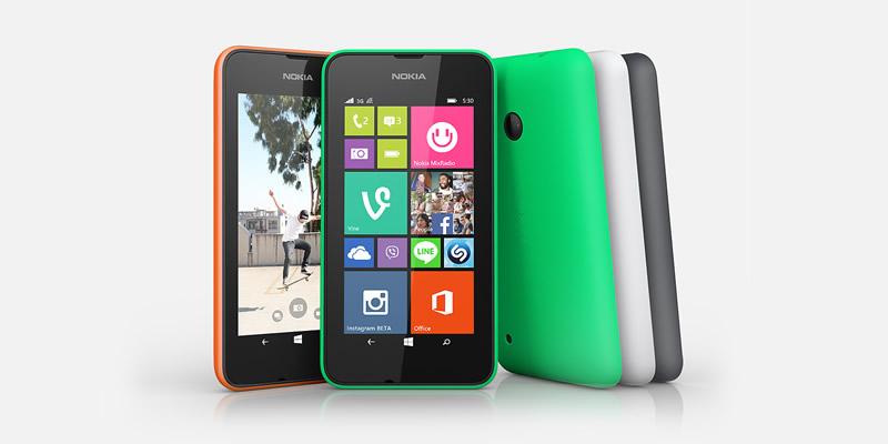 Lumia 530, el smartphone de alto rendimiento a menos de $2000 pesos llegó a México - Nokia-Lumia-530-Mexico
