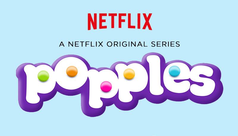 Anuncian Popples, la nueva serie original para niños de Netflix - Popples-Serie-Netflix
