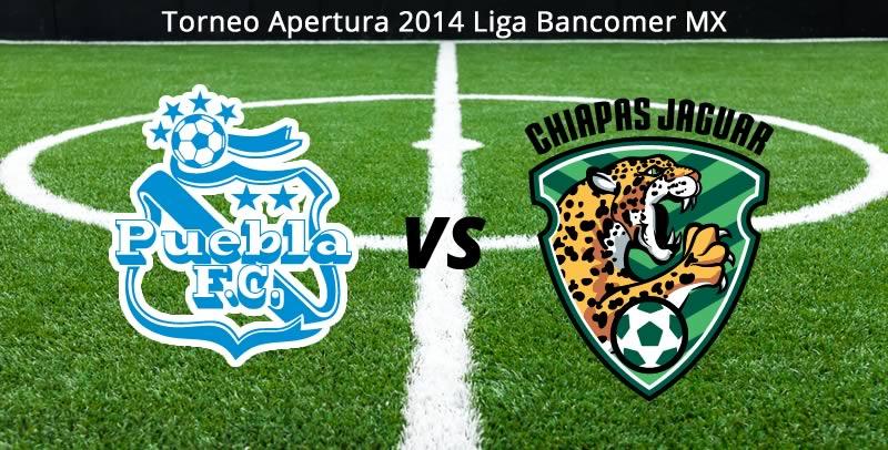 Puebla vs Chiapas, Jornada 9 Apertura 2014 - Puebla-vs-Chiapas-en-vivo-Apertura-2014
