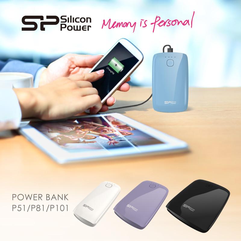 Nuevos Power bank de Silicon Power - SPPR_Power-P51-P81-P101-Power-Bank_KV-800x800