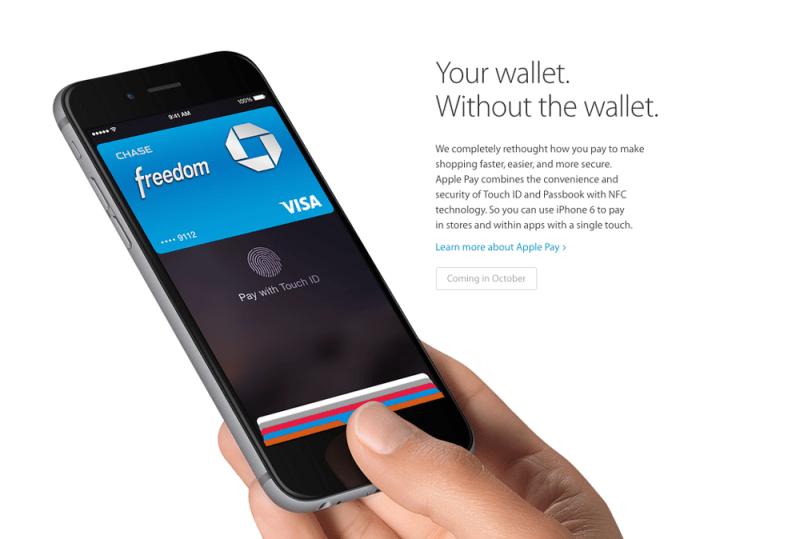 Estos son los nuevos iPhone 6 y iPhone 6 Plus - apple-pay-800x539