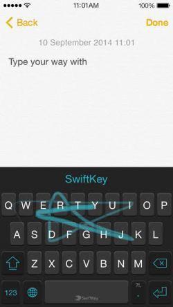 SwiftKey, teclado estrella de Android llega a iOS 8 - swiftkey-ios-8