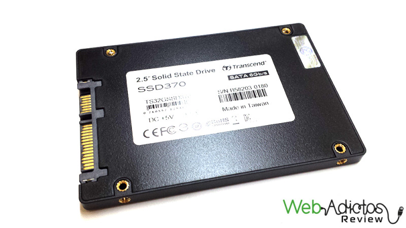 Disco SSD Transcend SSD370 32GB [Reseña] - 72-800x450