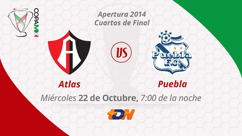 Atlas vs Puebla, Copa MX Apertura 2014 - Atlas-vs-Puebla-en-vivo-Copa-MX-Apertura-2014