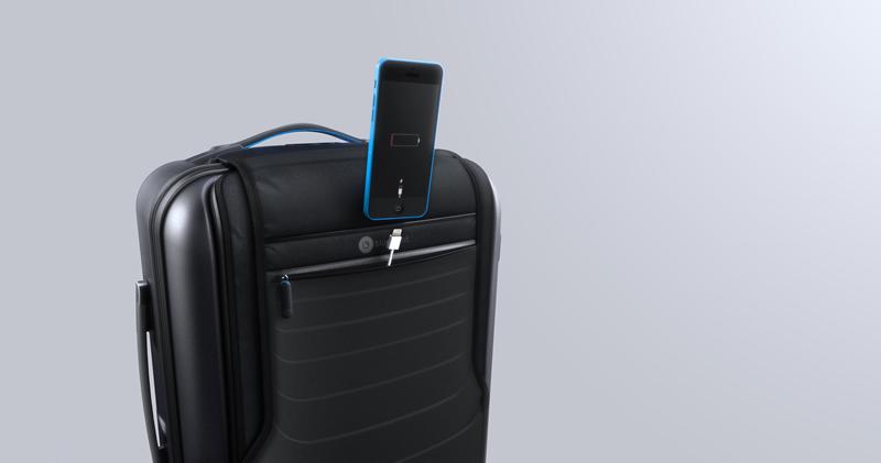 Bluesmart, la primera maleta inteligente - Bluesmart-Carga-tu-iPhone