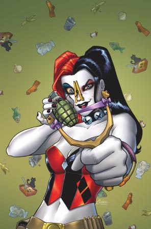 DC lanzará cómic de Harley Quinn con olor a cannabis - Harley_Quinn_Vol_2_Annual-1_Cover-1_Teaser-296x450