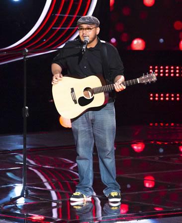Esto pasó en La Voz México 2014 en su quinta noche de audiciones - La-Voz-Mexico-2014-Leo-Mendez