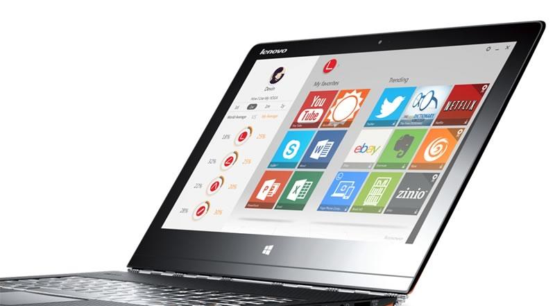 Lenovo presenta la nueva Yoga 3 Pro una PC convertible ultradelgada - Lenovo-Yoga-3-Pro-Apps