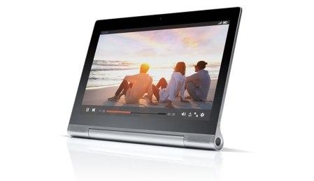 Nueva Yoga Tablet 2 Pro con proyector integrado presentada por Lenovo y Ashton Kutcher