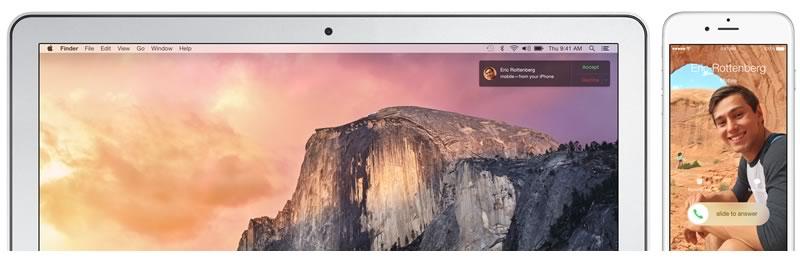 OS X Yosemite disponible gratis desde hoy - Mac-OS-X-Yosemite-contestar-llamadas