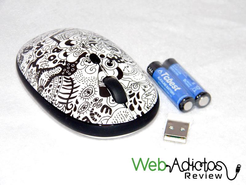 Workmate de Acteck un Mouse inalámbrico con estilo - Mouse-Workmate-de-Acteck-2402