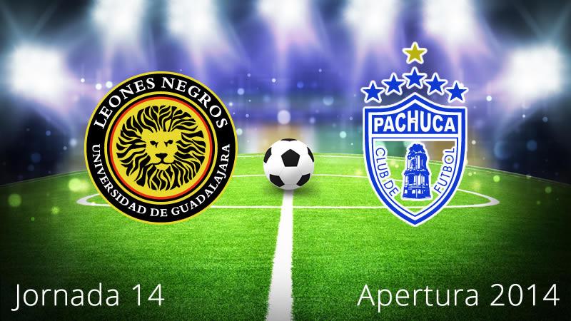Pachuca vs Leones Negros UDG, fecha 14 del Apertura 2014 - Pachuca-vs-Leones-Negros-UDG-en-vivo-Apertura-2014