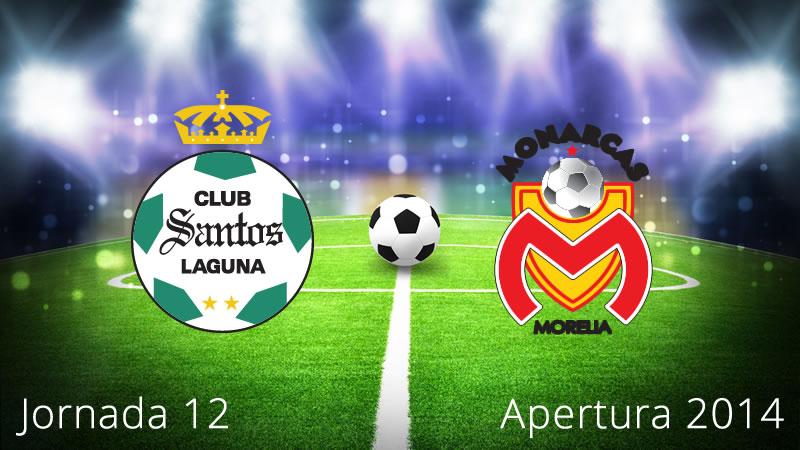 Santos vs Morelia, Jornada 12 Apertura 2014 - Santos-vs-Morelia-en-vivo-Apertura-2014-Jornada-12