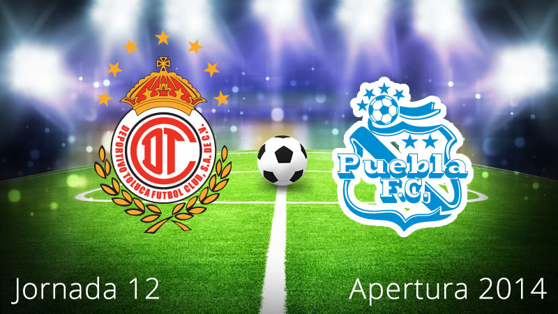 Toluca vs Puebla, Jornada 12 Apertura 2014 - Toluca-vs-Puebla-en-vivo-Apertura-2014-Jornada-12