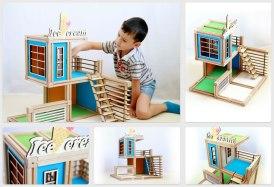 WoodyMac, el set de bloques de construcción de madera con imanes que te encantará - WoodyMac-Construcciones