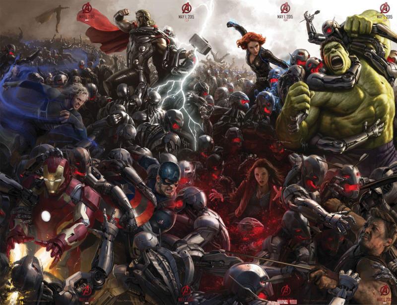 #MarvelEvent y el futuro del cine de Comics - age-of-ultron-800x615