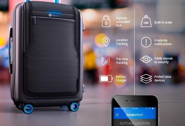 Bluesmart, la primera maleta inteligente - bluesmart