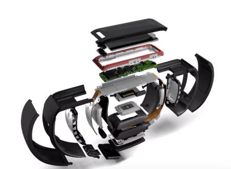 """Microsoft entra al terreno de los """"wearables"""" con la Microsoft Band - microsoft-band-2-450x329"""