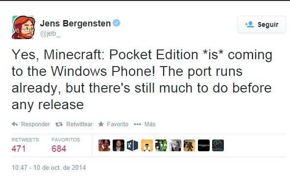 Desarrollador confirma Minecraft para Windows phone - minecraft-windows-phone