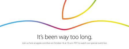 Ve la presentación de las nuevas iPad en vivo por streaming este 16 de octubre