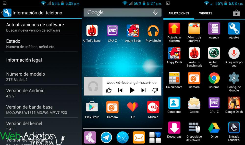 zte blade l2 1 ZTE Blade L2, un smartphone económico pero con grandes prestaciones [Reseña]