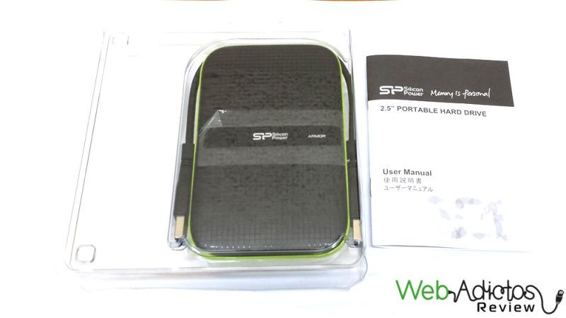 Silicon Power Armor A60 1TB [Reseña] - 4-800x450