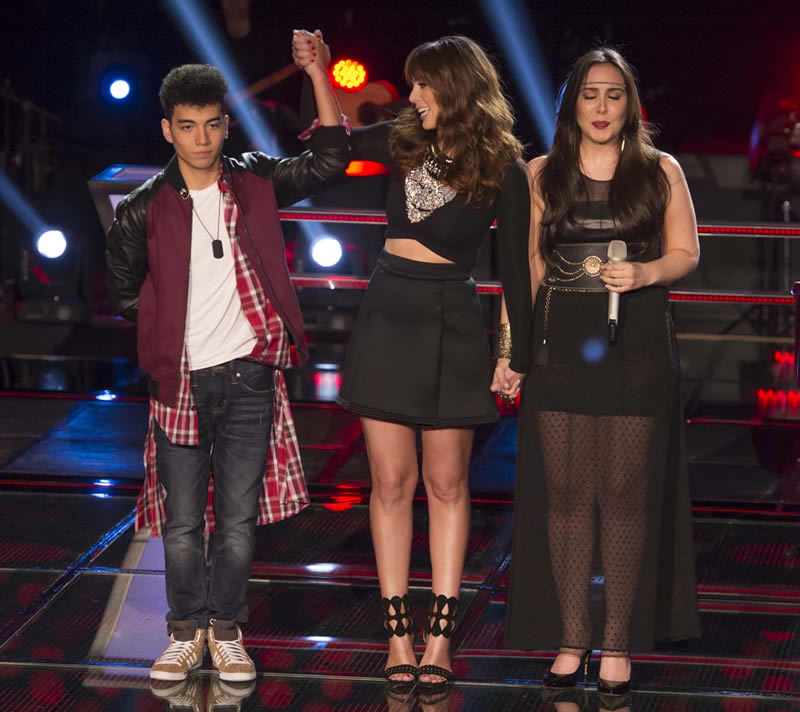 Las batallas de La Voz México 2014 concluyeron - 7-Saak-y-Andrea-Lopez-La-Voz-Mexico-2014