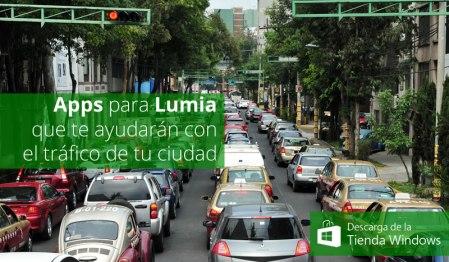 Apps para Lumia que te ayudarán con el tráfico de la ciudad