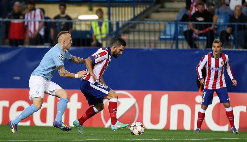 Atlético de Madrid vs Malmo, Champions League este 4 de noviembre - Atletico-de-Madrid-vs-Malmo-en-vivo-Champions-2014-2015