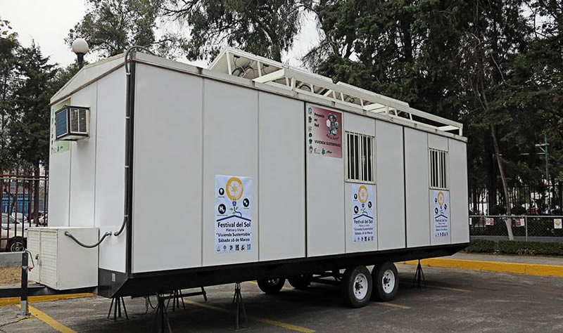 Diseña IPN casa móvil con tecnologías limpias y renovables - Casa-Movil-IPN-tecnologias-limpias